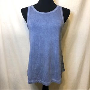 American Eagle Soft and Sexy Tank Top Blue Size S